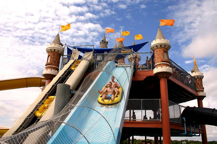 Thrill-seekers love water coasters and we really love riding the Master Blaster at Schlitterbahn New Braunfels.