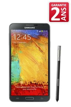 Mobile nu Samsung GALAXY NOTE 3 NOIR