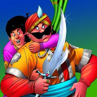 Bankelal the famous indian comics character.....
