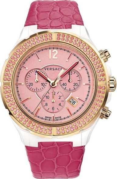Versace Versace DV One Cruise Pink 42MM Watc