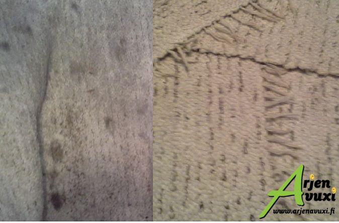 Mattojen pesu on muuten heleppoo! http://www.siivous-pyhajarvi.fi/mattojen-peseminen-vaikeaa-ja-tyolasta-vai-onko-sittenkaan/