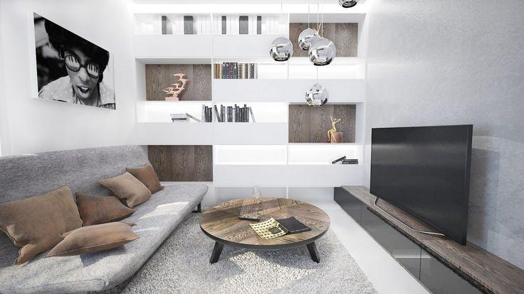 Moderné obývacie izby inspirace - Rezidencia Pri Mýte I. | FAVI.sk