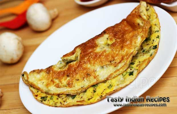 How to make Egg Omelette - Egg Omelette Recipe