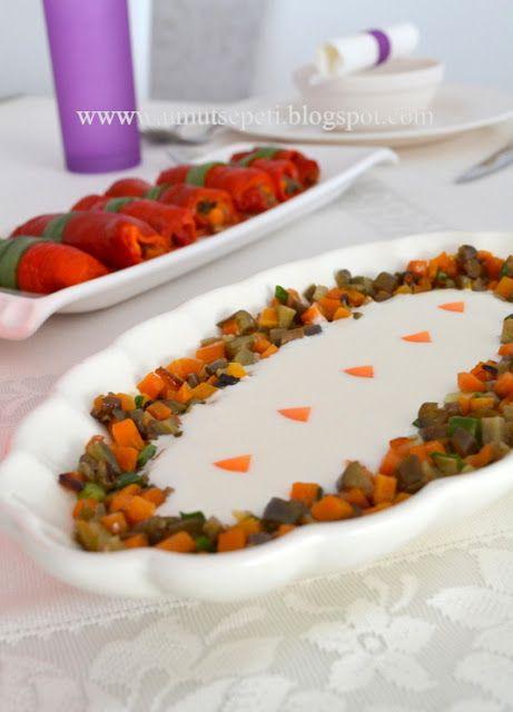 Rengarenk Masadan, Renkli Salatalar :) | Umut Sepeti