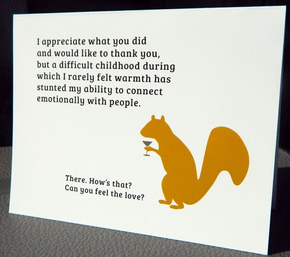 8 best Thank you cards images on Pinterest Ecards, Funny thank - work thank you note