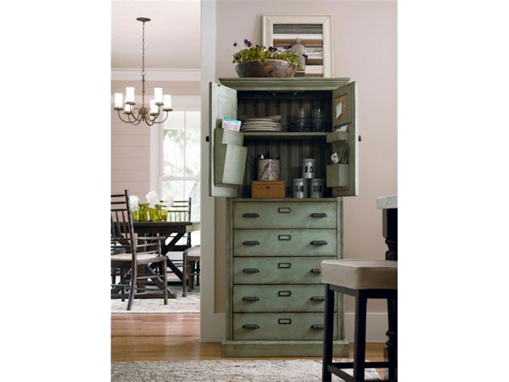 Paula Deen Furniture Outlet | Paula Deen By Universal Dining Room Paulau0027s  Kitchen Organizer Cabinet .