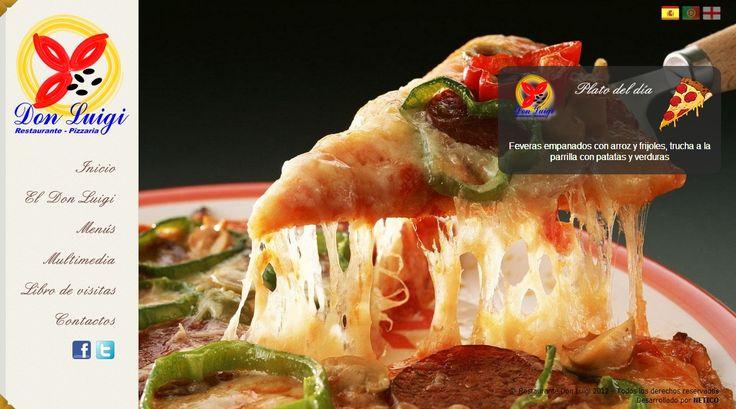 #disenoweb #disenografico #restauranteitaliano #pizza