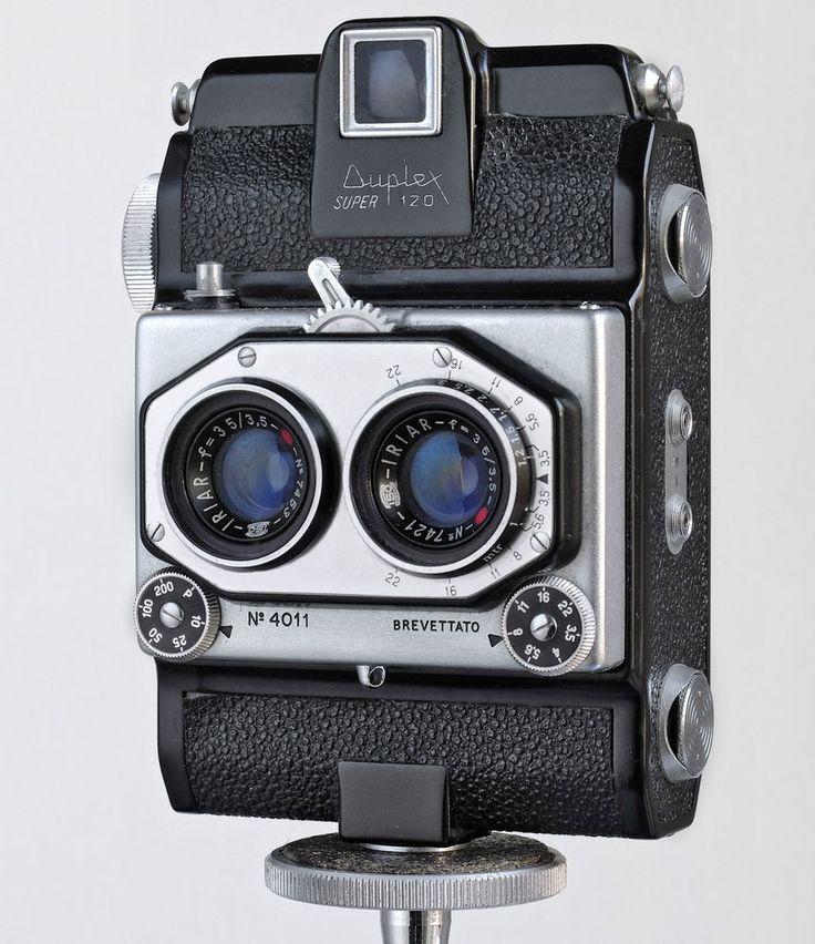 Iso Duplex Super 120 Italian Stereo Camera