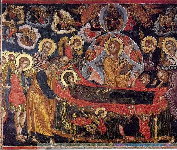 Monastery Stavronikita, Athos. Part IV- The Dormition of the Virgin Mary