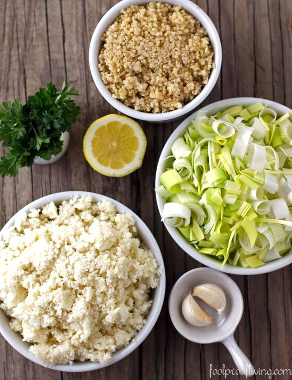Recipe: Cauliflower Risotto - Foolproof Living