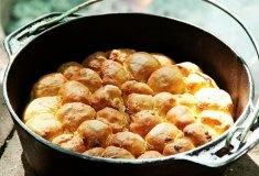 Weg Potato Bake-broodrolletjies