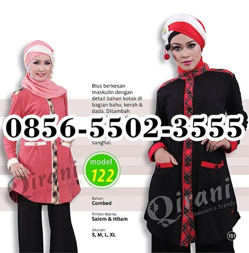 Atasan Qirani Terbaru 2016, HP.0856-5502-3555,