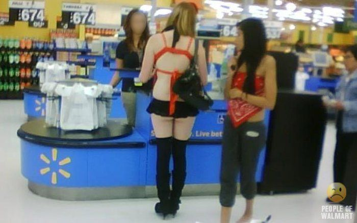 What? Hookers gotta shop too.