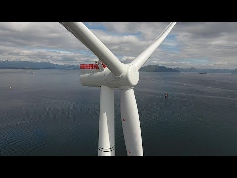 Hywind Scotland: World's first floating wind farm has started production – Bergensia