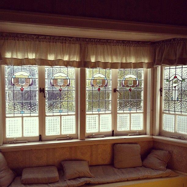 inside view of bay window on Queenslander house