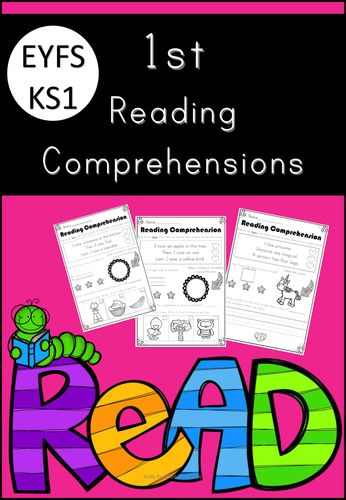 1st Reading Comprehensions for EYFS and KS1!