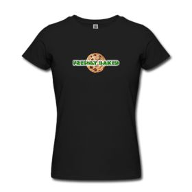 Freshly Baked Merchandise Ladies T Shirt Black