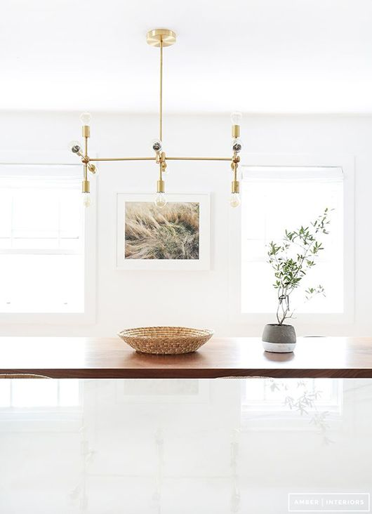 let there be light / amber interiors
