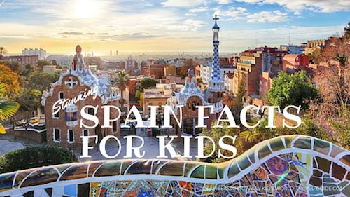 Our Spain Facts for Kids you will provide plenty of fun facts about Spain. Explore Spain through children's eyes. Enjoy!