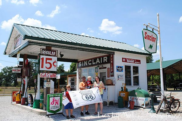 Gay parita sinclair route 66 pinterest garage and gay for Garage route 66 metz
