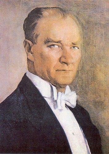 Portrait of Atatürk by İbrahim Çallı