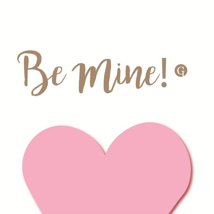 Be mine! #GLIPS #valentinesday
