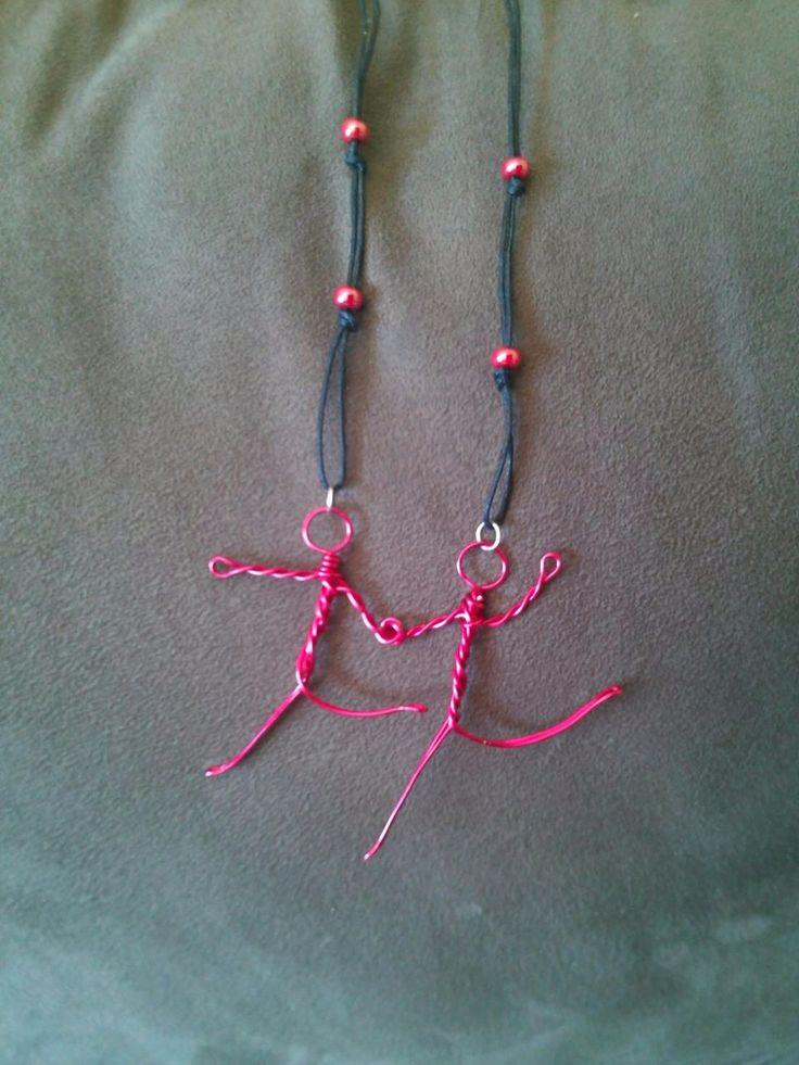 Duet necklace