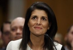 NIKKI HALEY DEFENDS ISRAEL: CALLS ON UNITED NATIONS TO STOP DEMONIZING THE HOLY LAND