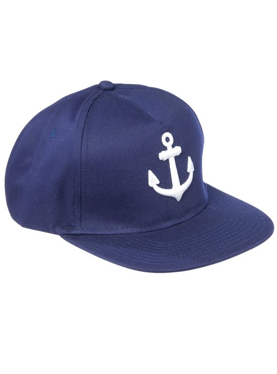THE ANCHOR Snapback 5 panle snap-back cap.