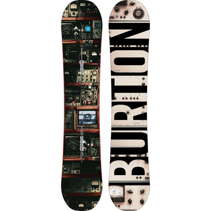 Snowboards 93825: 2017 Mens Burton Blunt 154 Cm Flying V Snowboard -> BUY IT NOW ONLY: $350.0 on eBay!