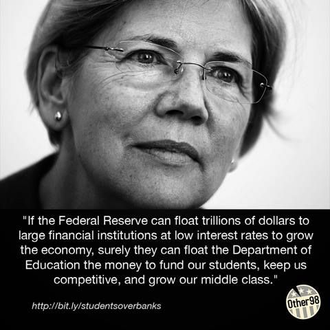 Elizabeth Warren, she is the best