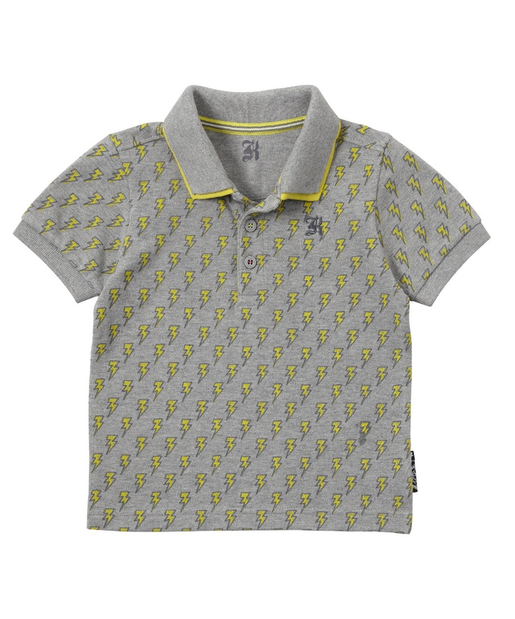 Baby K Lightning Polo Shirt - t-shirts - Mothercare boys baby toddler infant