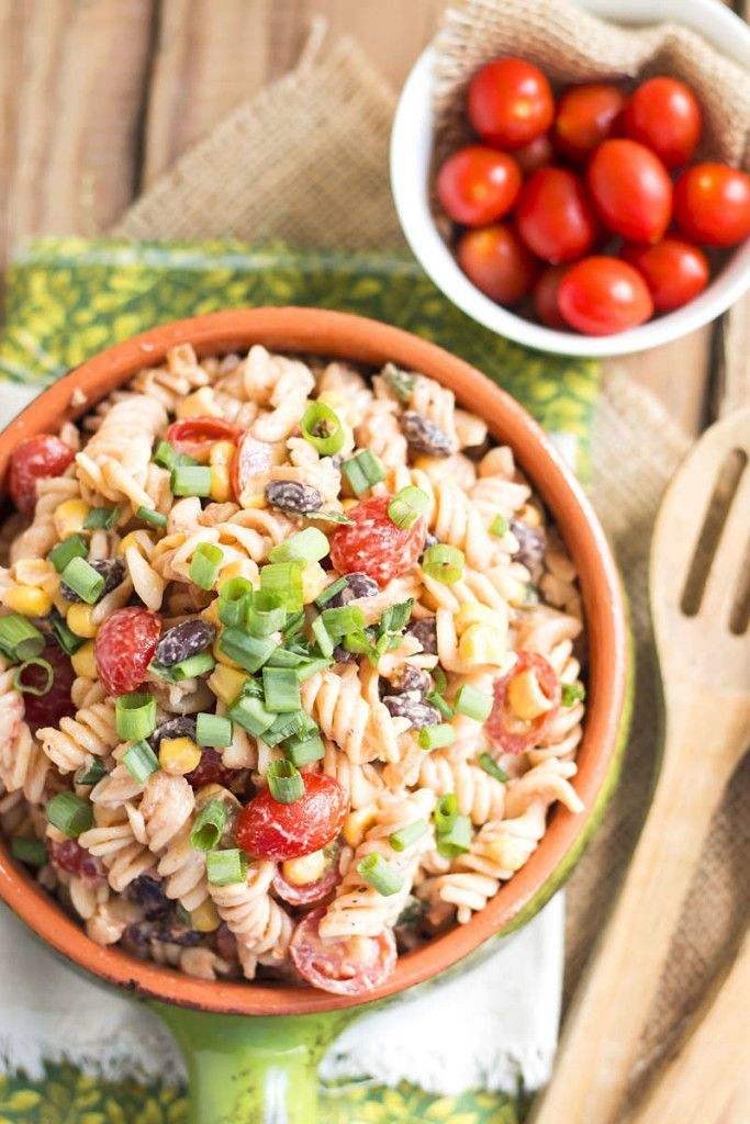 We definitely want a bite of this Southwest Pasta Salad!