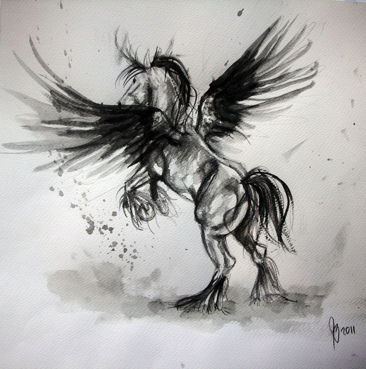 Clash of the Titans Pegasus Horse | Pegasus by radioactivated