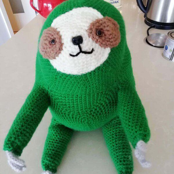 Strange Christmas Toys 2020 Ollie The Sloth Crochet pattern by Irene Strange in 2020 | Crochet
