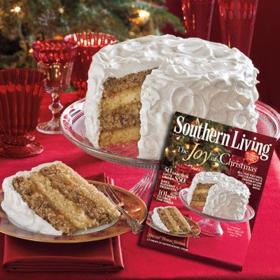Spice Cake with Citrus Filling - Southern Living Christmas Cakes - Southern Living