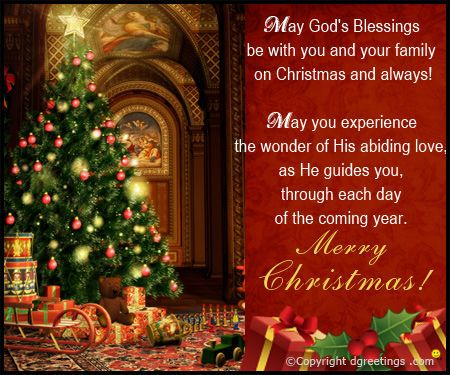 May God's Blessings be with You and Your Family.... merry christmas happy holidays seasons greetings christmas quote christmas poem christmas greeting christmas friend christmas family and friends