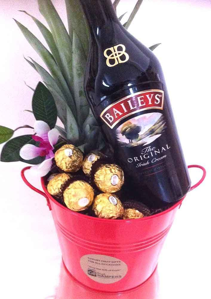 iGift Fruit Hampers - Baileys Gift Bucket   Chocolate   Pineapple - Free Delivery, $99.00 (https://igiftfruithampers.com.au/corporate-hampers/baileys-gift-bucket-chocolate-pineapple-free-delivery/)