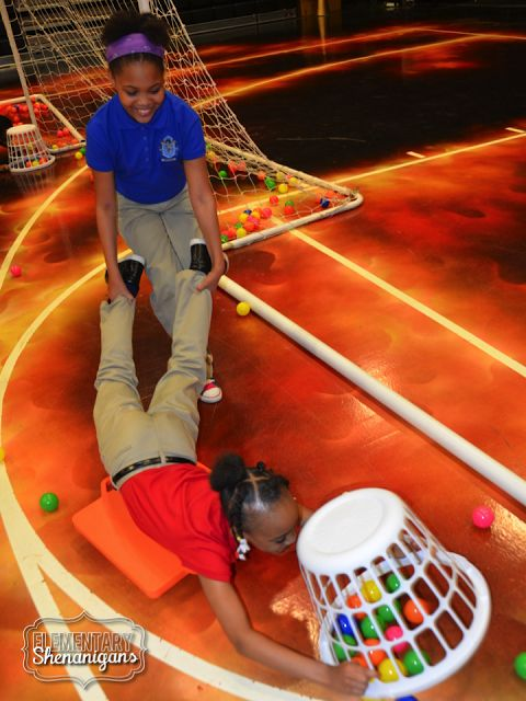Human Hungry Hungry Hippos: Such a fun and easy way to make test-prep fun and engaging!