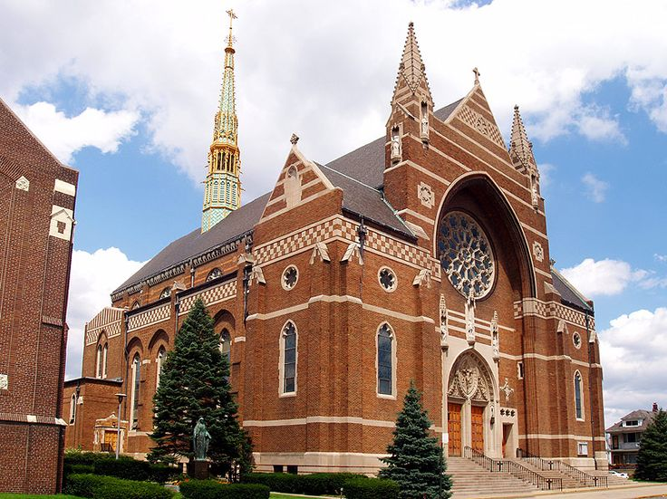 St. Florian Church | Hamtramck, Michigan | ~ Where I went to grade school :)