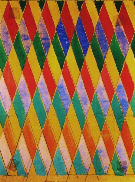 giacomo balla paintings | Iridescent Compenetration - Giacomo Balla - WikiPaintings.org