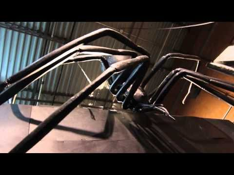 giant black widow spider halloween decorations for the home haunter haunted houses and theme