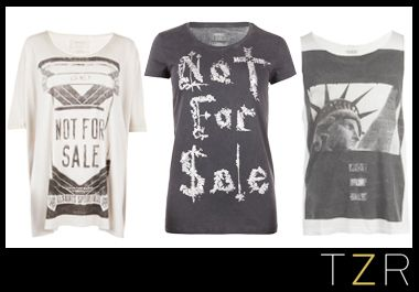 AllSaints + Not For Sale T-shirt Collection commencing an ongoing partnership between the coveted British fashion brand and international non-profit anti-human trafficking group. Proceeds from the capsule collection will benefit Not For Sale's work to prevent forced labor and combat human trafficking globally. How major is that?