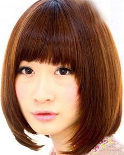 Korean hairstyles for round faces 2014 - awesome Korean hairstyles for round fac...,  #Awesom...