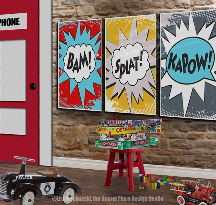 Best 25+ Superhero room decor ideas on Pinterest ...