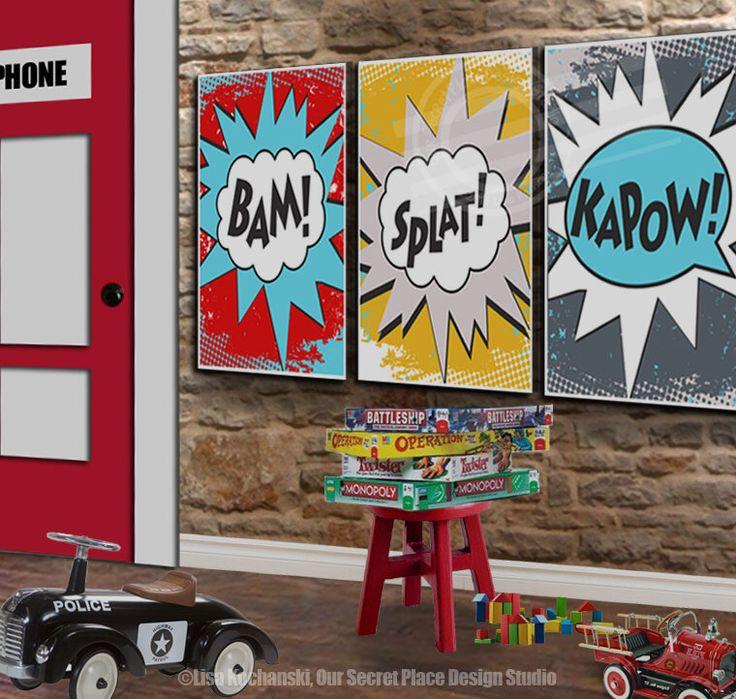 Superhero Wall Decor best 25+ superhero room decor ideas on pinterest | superhero boys