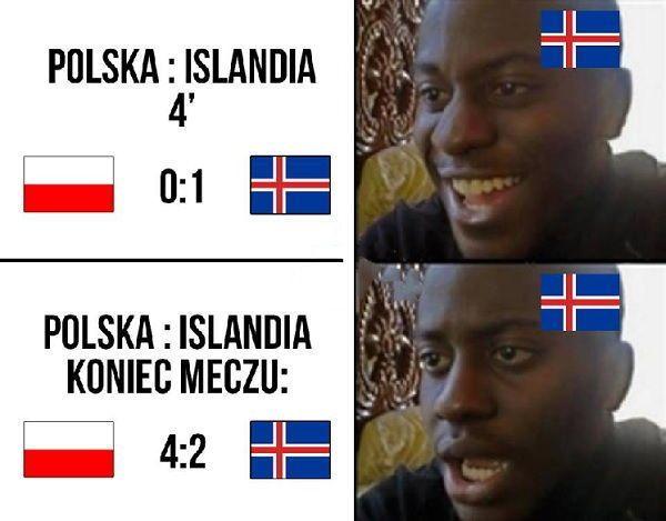 Tak zareagowali kibice Islandii po meczu z Polską • Śmieszna reakcja Islandzkich…