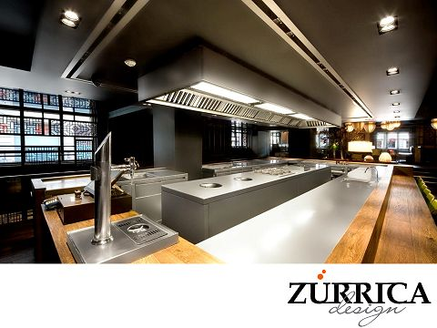 54 best Cocina industrial images on Pinterest | Industrial kitchens ...