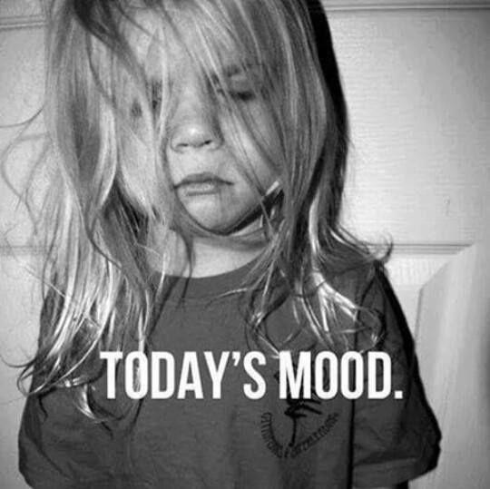 It's Wednesday ... still my mood ...