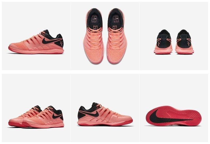 best loved de0a2 027d7 Federer s Nike Zoom Vapor X All Court Shoe for Australian Open 2018